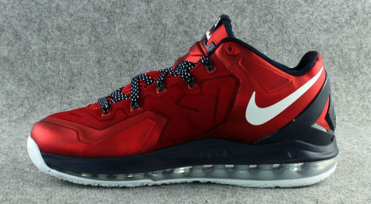 Nike LeBron 11 Low Independence Day Bright Crimson White  536ba0077