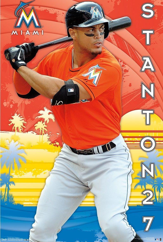 0d05b6f6e Giancarlo Stanton Miami Marlins