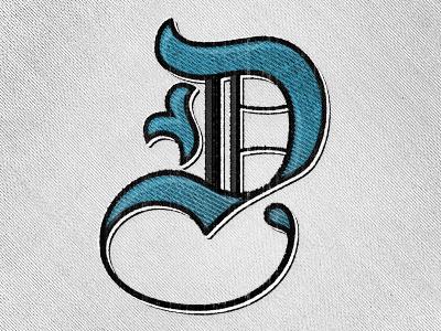 Letter D Type Fight Submission Lettering Alphabet D Letter Design Letter D