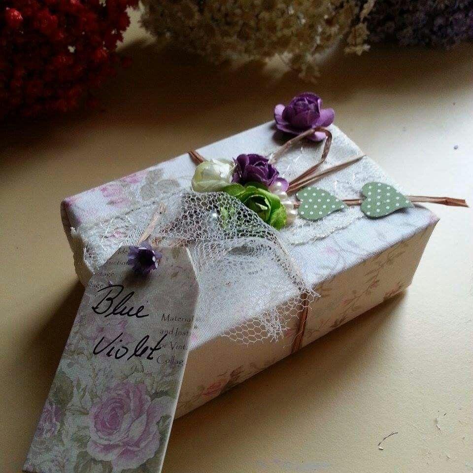 Sabonete perfumado vintage.Email: contao@blueviolet.com.br