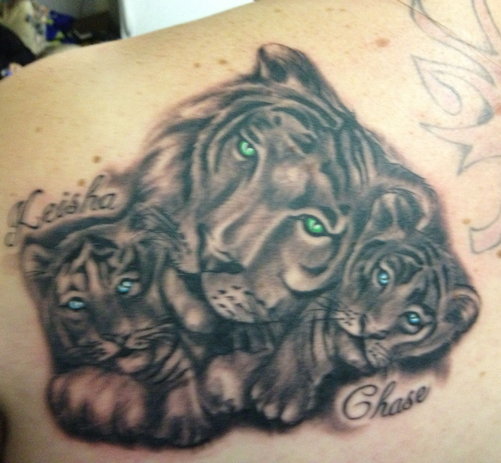 Tattoo For My Kids Tiger Tattoo Tattoos Tattoo Inspiration
