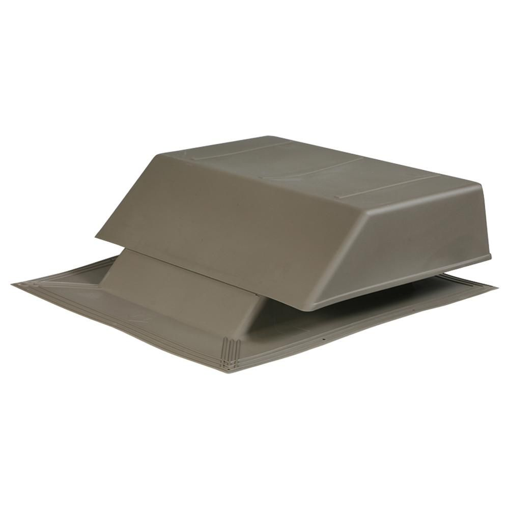 Air Vent 150 Sq In Nfa Plastic Slant Back Roof Louver Static Vent In Weatherwood Sold In Carton Of 2 Only Slp150ww Aluminum Screen Galvanized Steel Air Vent