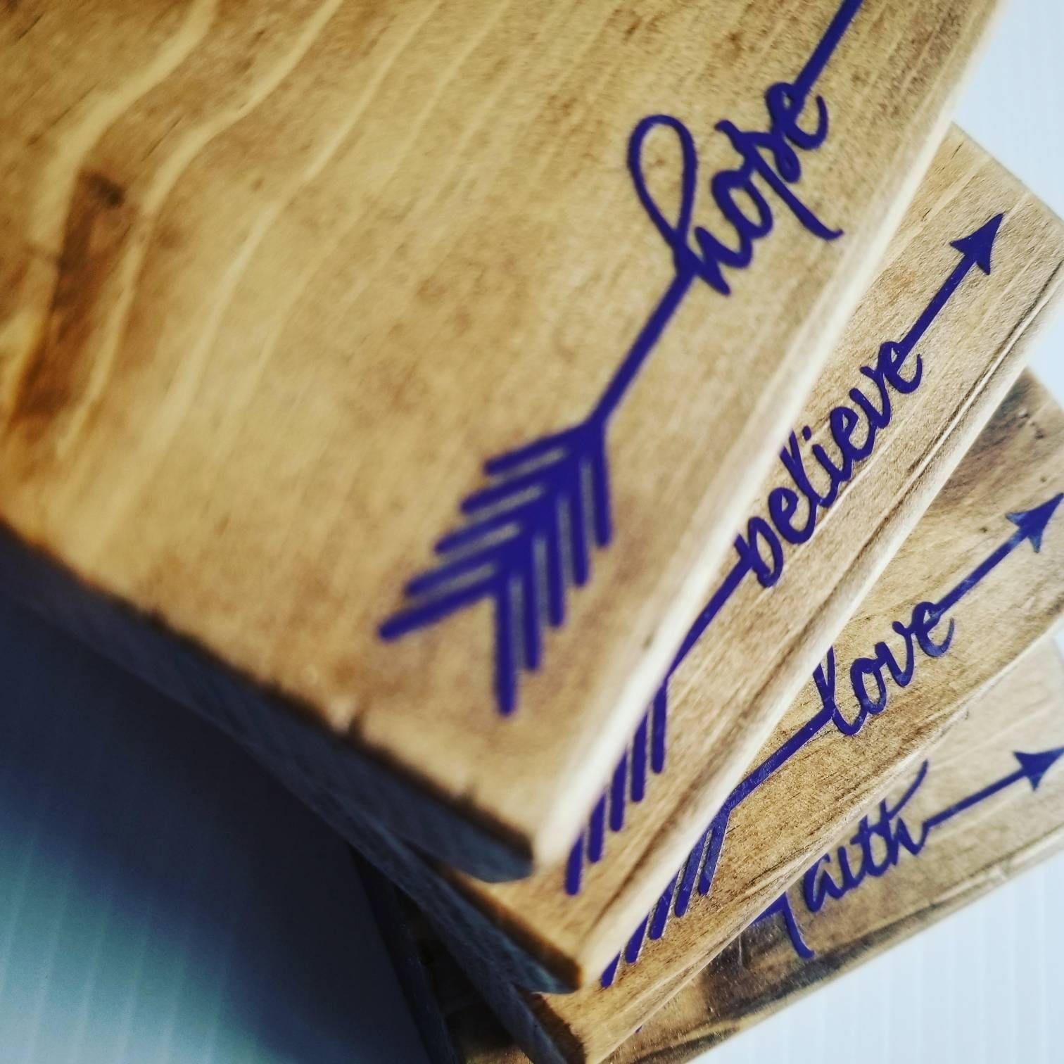 Reclaimed Wood Coasters, simple, inspiration, modern rustic, cramers ...