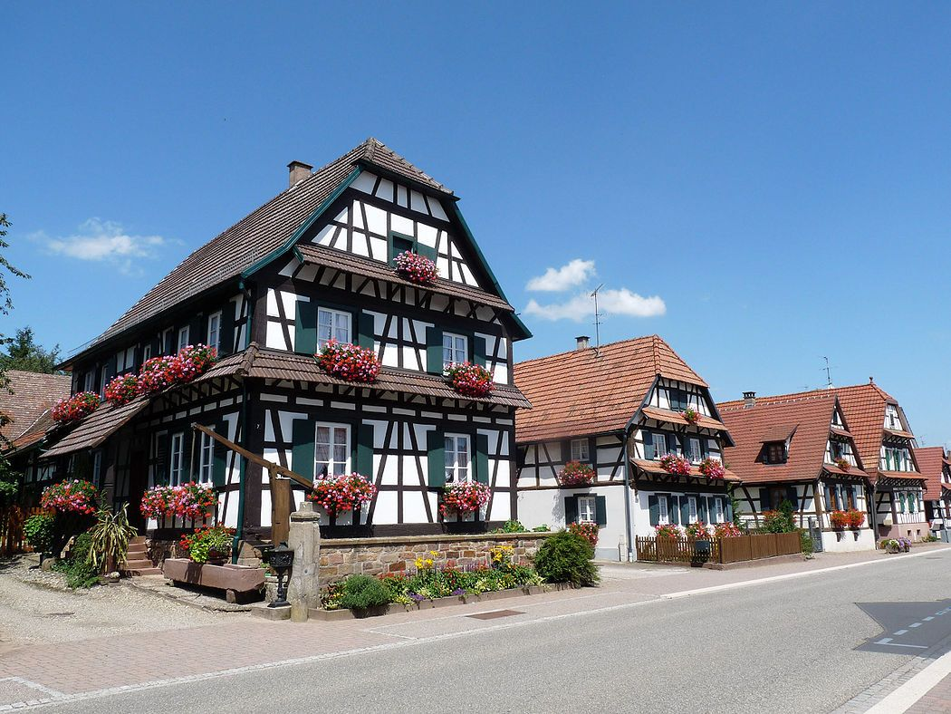 Preserved Germanic Architecture In Alsace Lorraine Skyscrapercity Alsace Architecture Alsace Lorraine