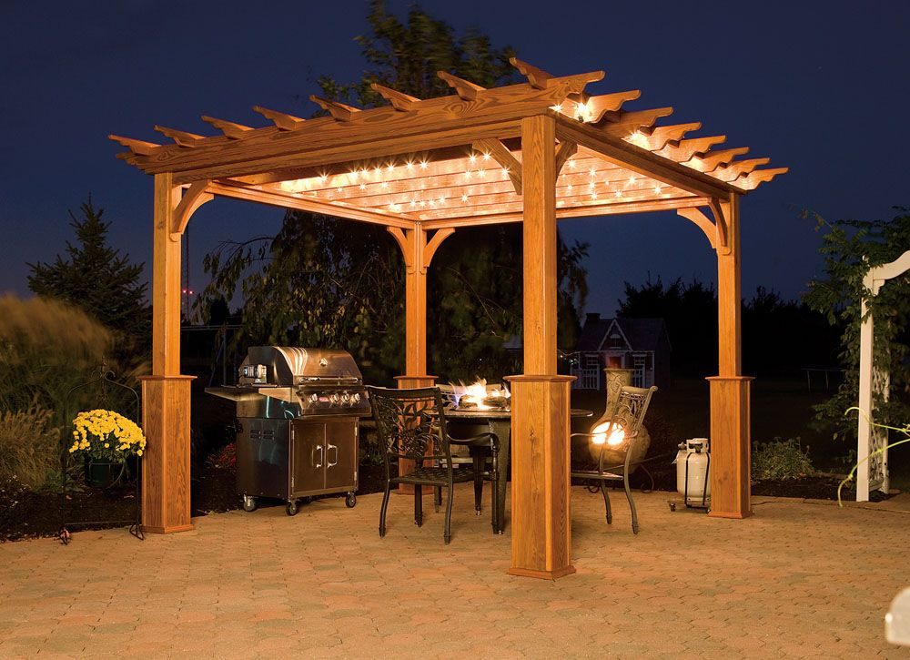 17 Exceptional Pergola Designs To Protect From The Sun With Style Pergola Free Standing Pergola Backyard Pergola