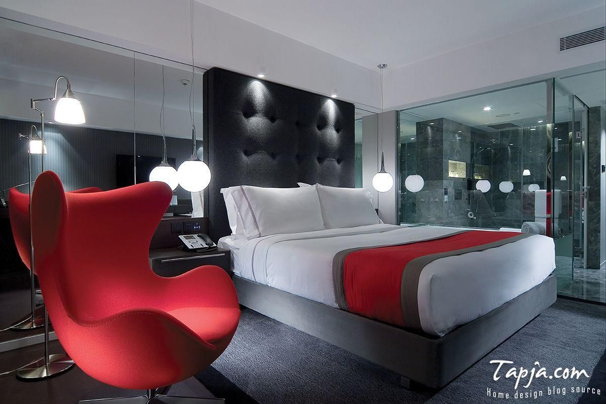 Modern black and red bedroom - Dark Themed Bedroom Google Search Bedroom Pinterest Search Bedrooms And Dark