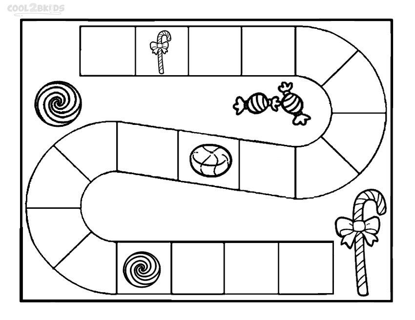 printable candyland coloring pages for kids cool2bkids - Candyland Pictures To Color