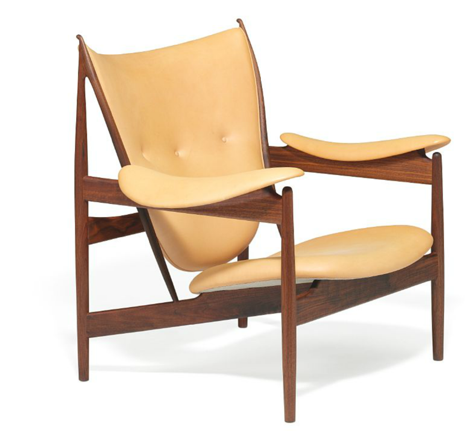 finn juhl chieftain chair by niels roth andersen sold at bruun