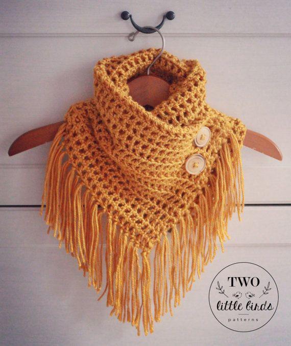 Easy Crochet Pattern Crochet Triangle Scarf Pattern Gift For Her