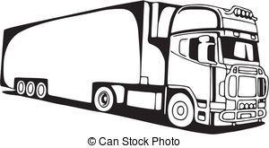 afbeeldingsresultaat voor tekening vrachtwagen tekenen