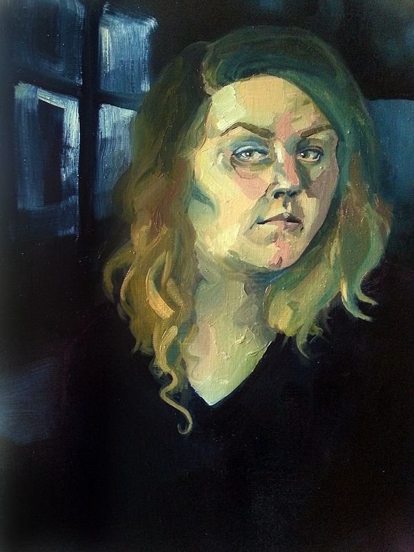 """""""Self-portrait"""" 2013 Iida Lotta Räsänen"""