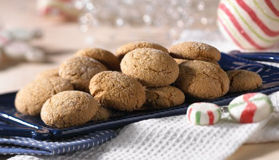 Try this recipe for a crispy twist on a holiday favorite. Your kids can help shape the dough and coat each cookie with a little sugar.