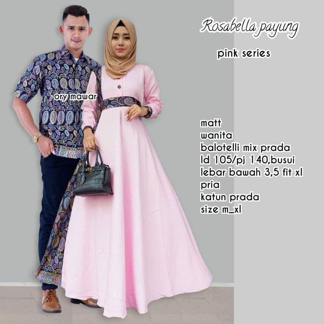Model Baju Gamis Batik Couple  Model, Model pakaian, Wanita