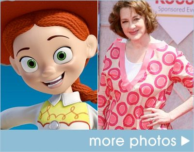 Toy Story Joan Cusak as Jessie | Voices of Disney Characters ...