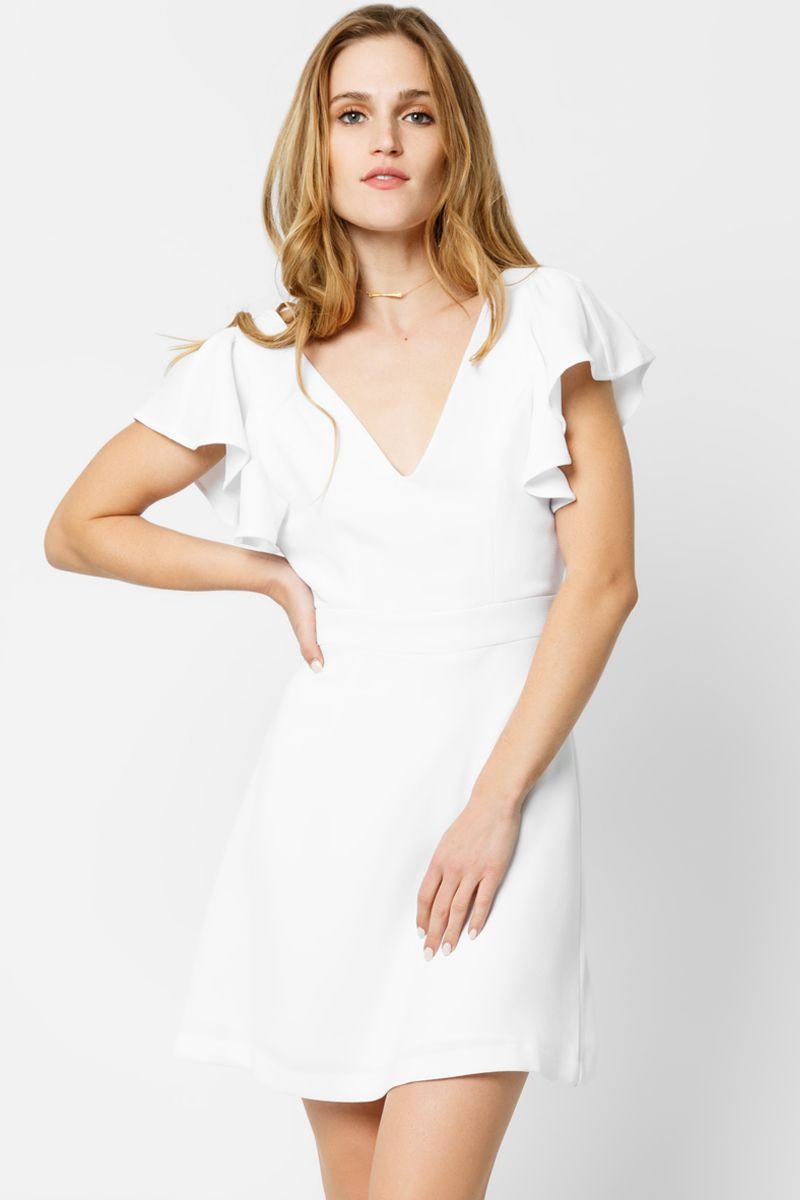 17+ White bcbgeneration dress info