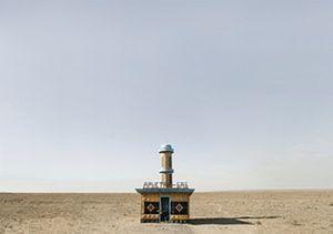 Soviet Bus Stops aral kazakhstan