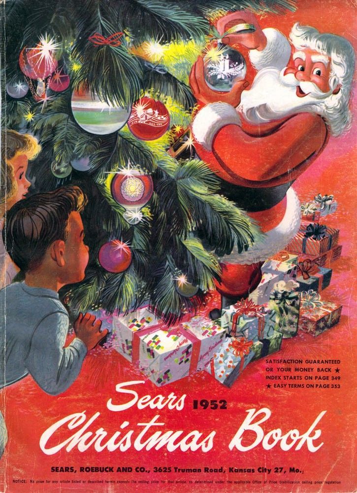 Christmas Mail Order Catalog.Sears Catalog 1952 Collectors Guide Mail Order Catalog