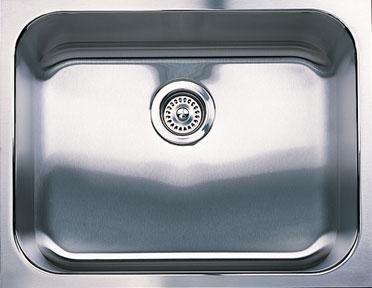 Clean Stainless Steel Sinks Need Sponge Baking Soda