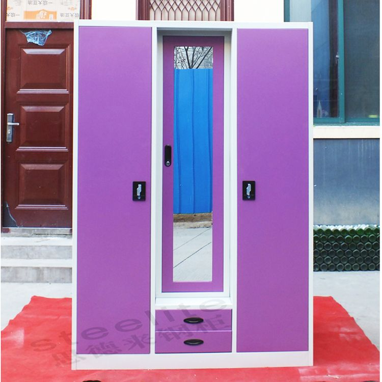Source bedroom steel or iron almirah cupboard designs for Bedroom cupboard designs in india