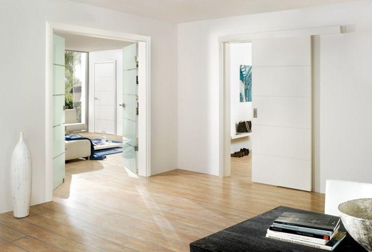 Porte coulissante : élégance et gain de place | Intérieur ...