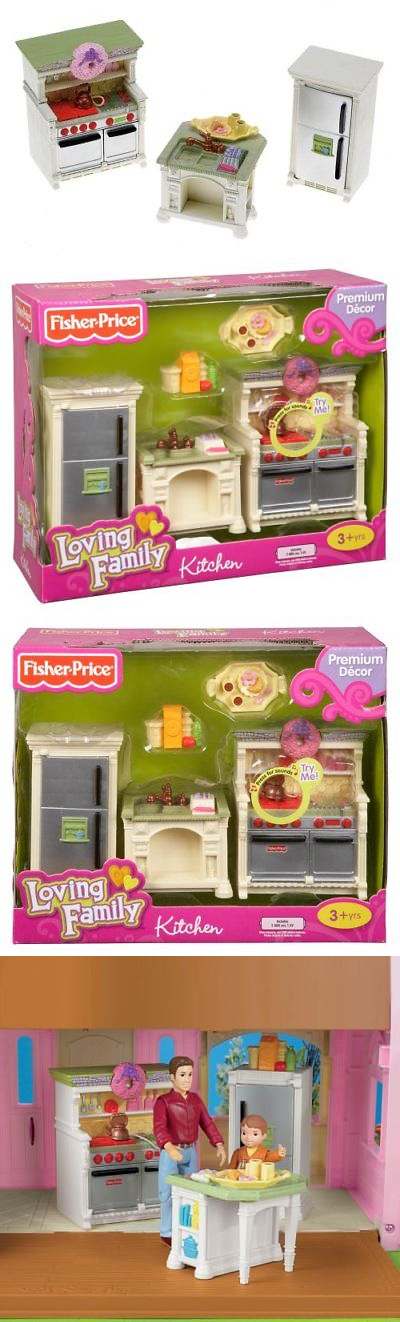 Dollhouses 20898 Fisher Price Loving Family Dollhouse Kitchen It Now Only