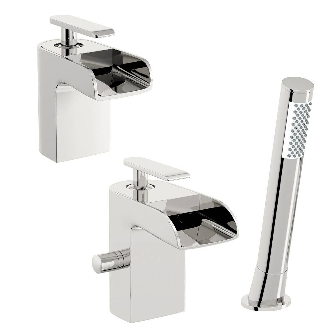 Reinosa Basin And Bath Shower Mixer Pack Victoria Plumb Bath Shower Mixer Bath Shower Mixer Taps Mixer Taps