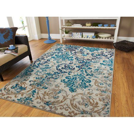 Century Rugs Luxury Rugs For Living Room Blue 8x10 Rug Under 100 Gray Modern Distressed Rugs 8x11 Dining Room Rugs For Under The Table Walmart Com Modern Rugs Blue Rugs In