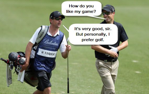 Golf Jokes The Golfer And The Caddie Golf Humor Golf Humor Jokes Golf Quotes