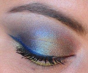 Sugarpill Absinthe And Makeup Geek Immortal Makeup Inspiration Eyeshadow Tutorial Eyeliner For Almond Eyes Eye Shadow Application