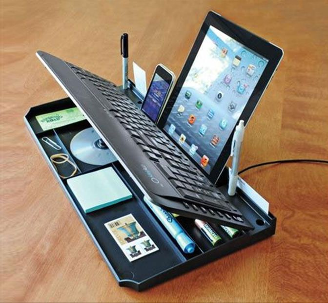 Secret Compartment Keyboard Organizer Invencoes Incriveis