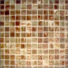 Light Brown Iridescent Gl Mosaic Tile