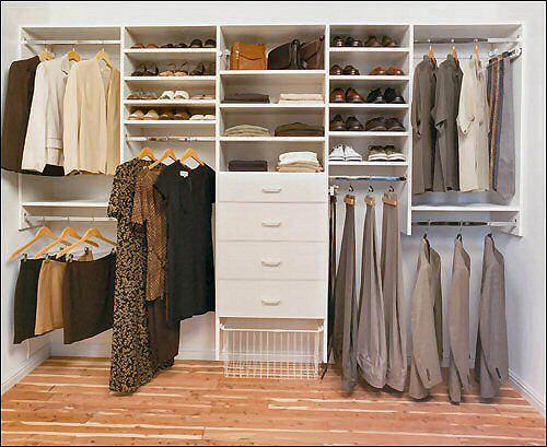 Closet Organizer Clever Closet Closet Organization Wardrobe Room