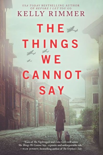 """Kelly Rimmer has outdone herself. I thought that Before I Let You Go was one of the best novels I had ever read…If you only have time to read one book this year The Things We Cannot Say..."