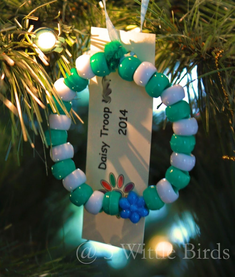 Girl Scouts Christmas ornament for xmas party! Girl Scouts ...