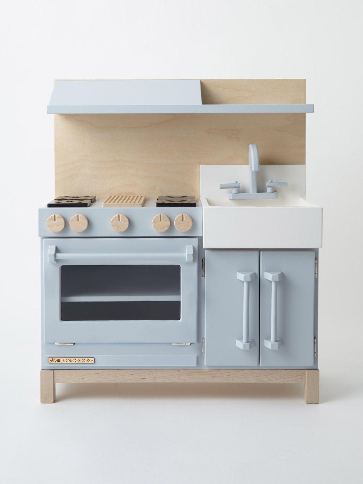 Montessori Play Kitchen | Wooden play kitchen, Kitchen ...