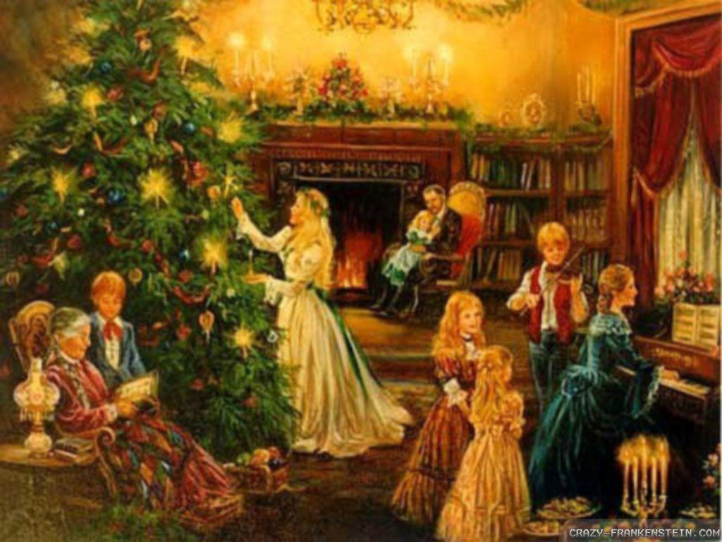 Christmas Images Free | Victorian Christmas - Christmas Wallpaper (32723749) - Fanpop fanclubs