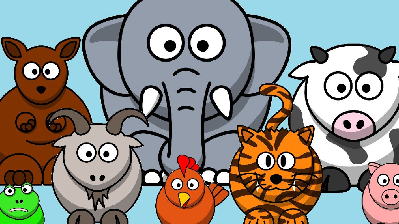 The Animal Sounds Song Kids Learning Videos Animal