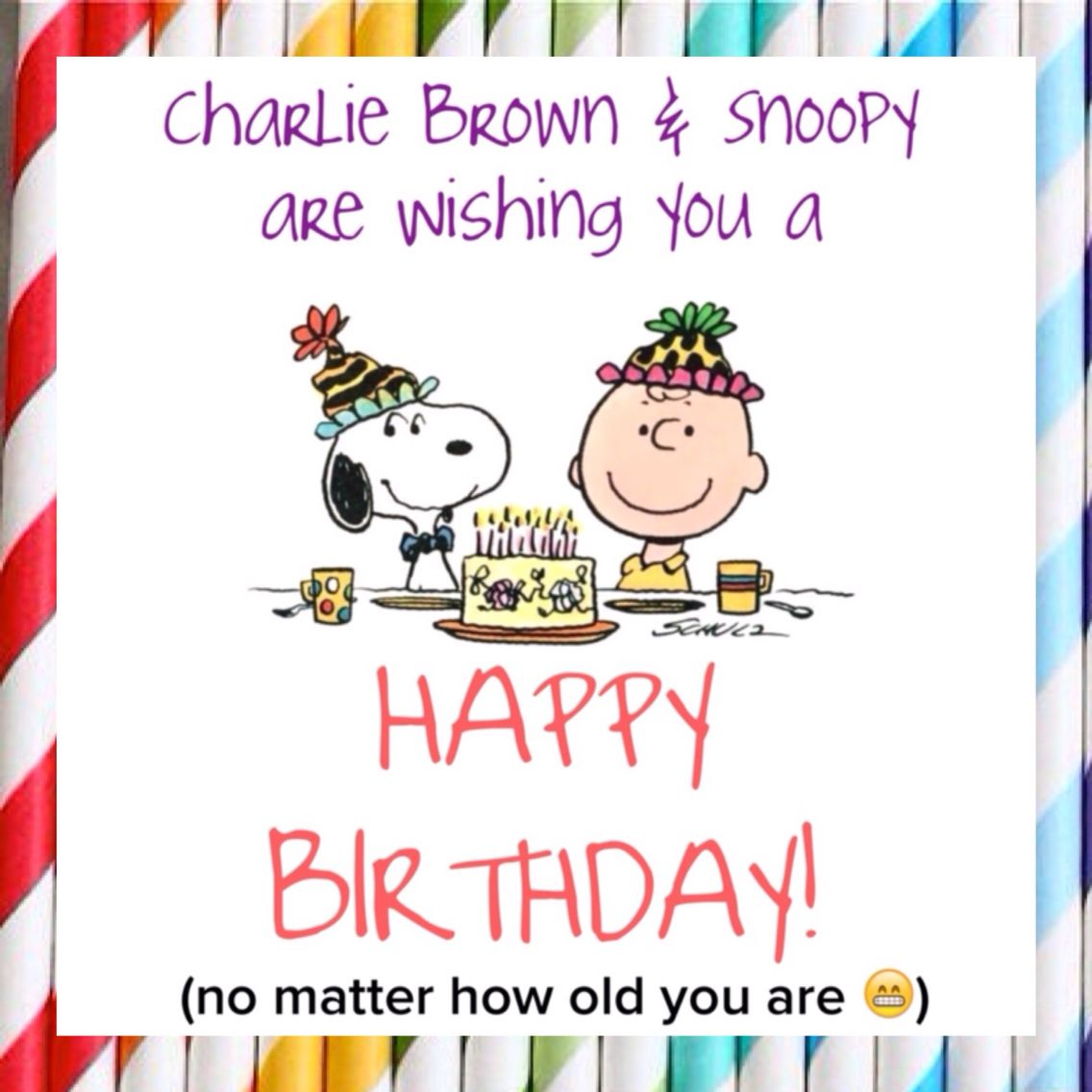 Details about  /SNOOPY HAPPY BIRTHDAY