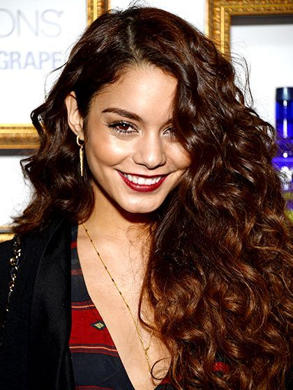 Curly Hair Tricks: get depth with color. Find out how to experiment with highlights or underlights if you're a curly-haired girl like Vanessa Hudgens. | allure.com
