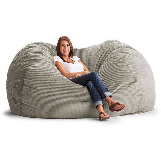 Wade Logan Aiden Foam Filled Bean Bag Sofa Bean Bag Chair Large Bean Bags Large Bean Bag Chairs