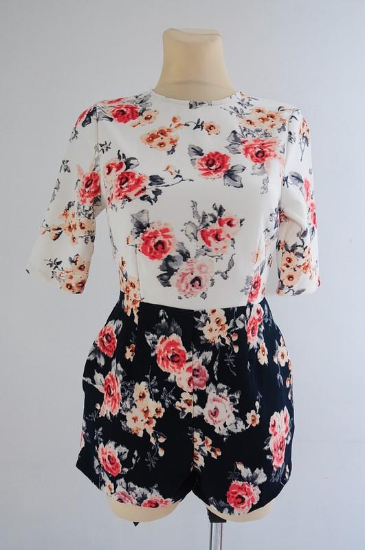 Kombinezon W Kwiatki Kieszenie R 36 Metka Missguided Vinted Dresses Fashion Women