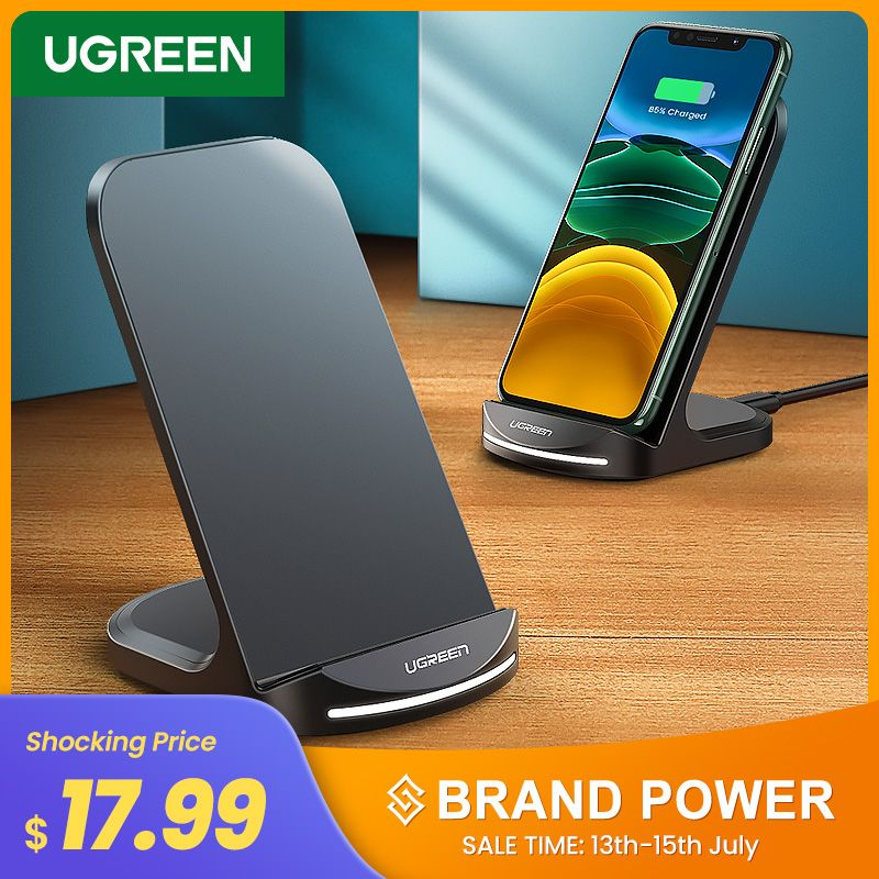 Ugreen Qi Wireless Charger In 2020 Wireless Charger Samsung S9 Charger Stand