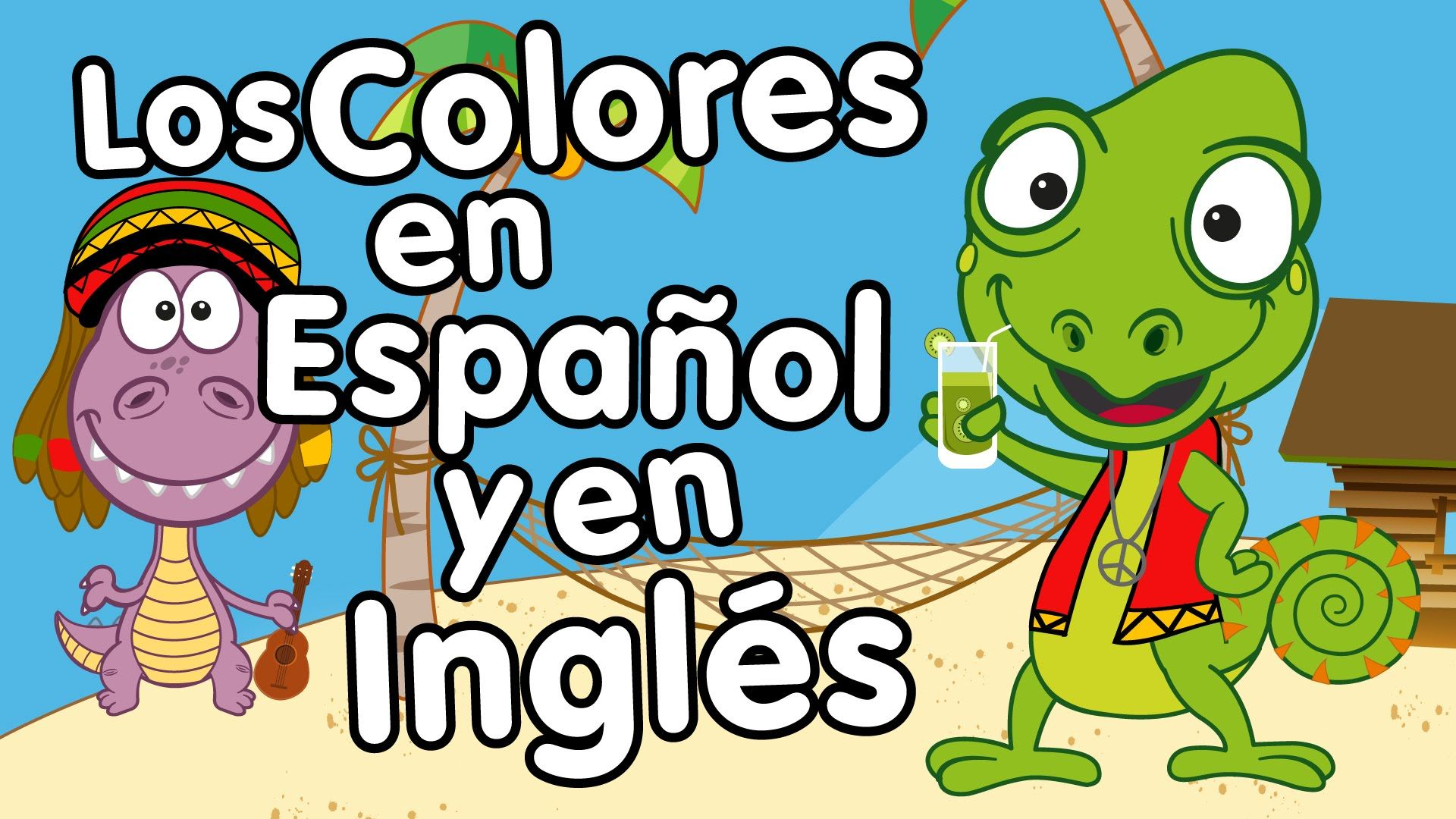 Los Colores en Inglés y Español - Canción para niños - Songs for Kids in...
