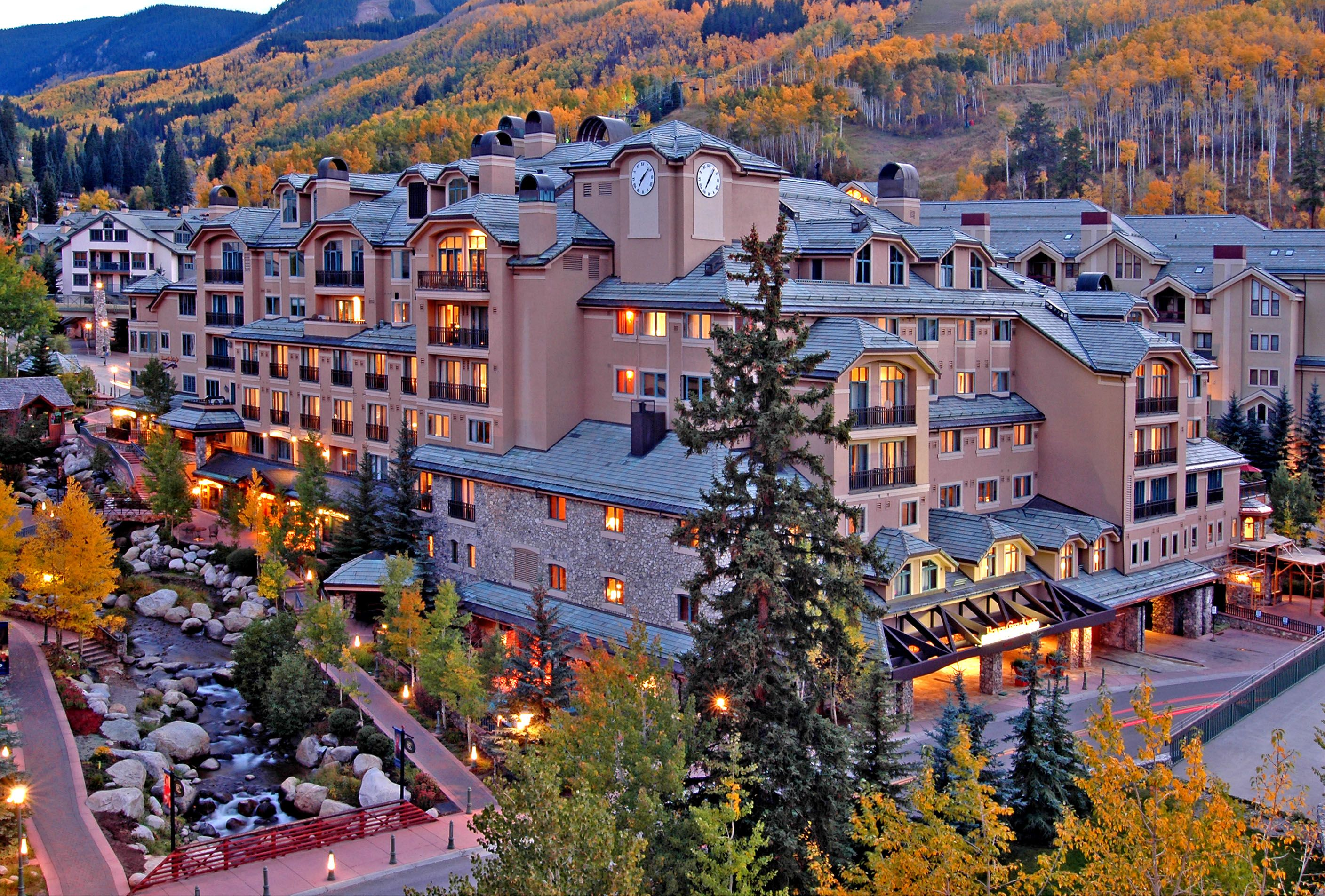Visit the beaver creek lodge in colorado over christmas