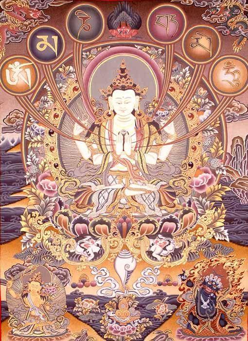 Mantra Of Avalokiteshvara | Mantra Avalokiteshvara
