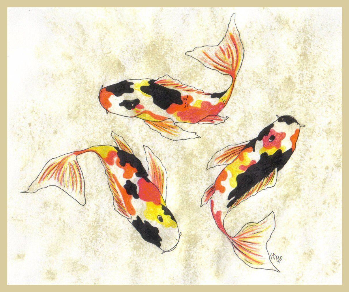 Koi Art Dragon Fish Koi Art Koi Fish
