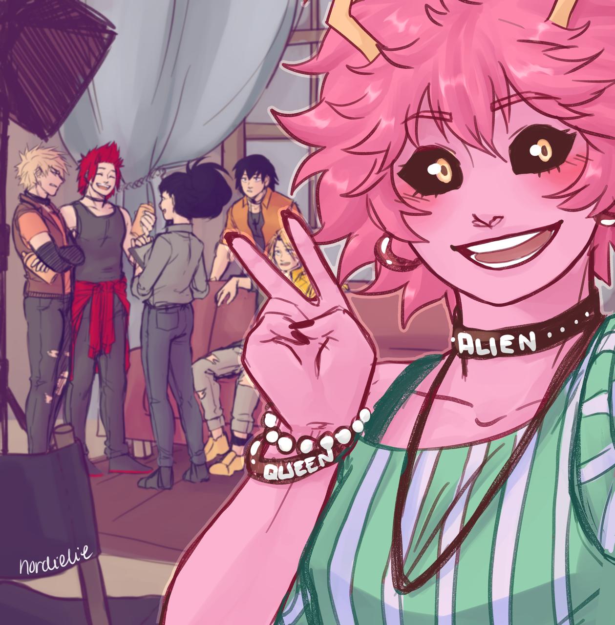 Mina Ashido | Tumblr | My Hero Academia (Boku No Hero