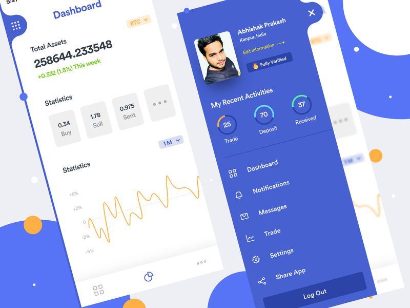 FREEBIE Crypto Trading Mobile App Mobile app, App