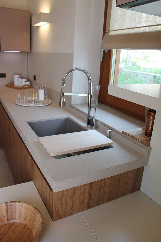 arredamento-cucina-torino-lavello-top   Kitchen in progress ...