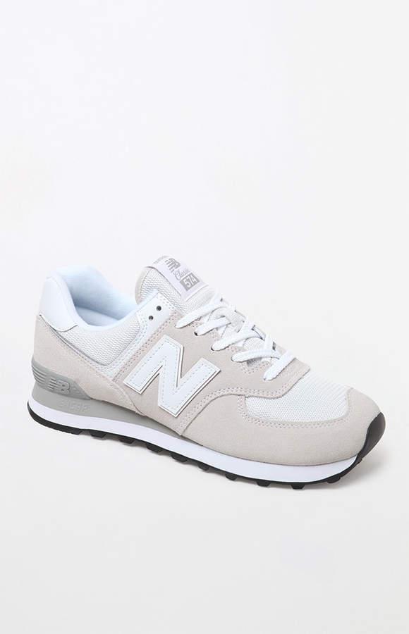 New Balance 574 Core Light Gray Shoes